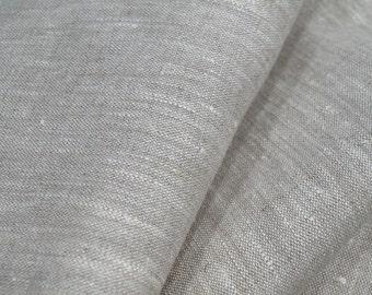 New pure flax linen fabric burlap natural decorative eco organic material