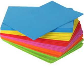 Craft Foam Sheet - Assorted Colors