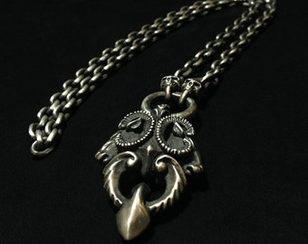 925 Sterling Silver Necklace for Root of all Evil