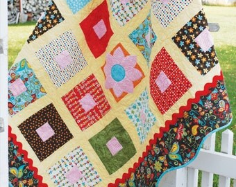 Four O'Clocks Quilt Pattern - Layer Cake Friendly