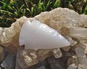 Glass Arrowhead Milk Glass Arrowhead