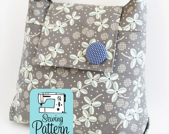 Daphne Handbag PDF Sewing Pattern | Purse Pattern | Shoulder Bag Sewing Pattern PDF | Sewing Project
