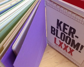 Ker-bloom letterpress volume 4