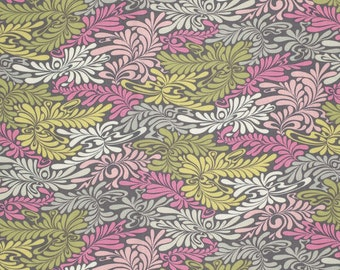 One yard - Camo Deluxe in Silver - Moon Shine by Tula Pink - Free Spirit cotton quilt fabric