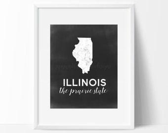 Illinois Printable