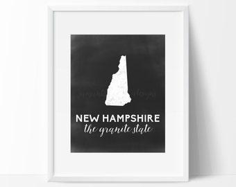 New Hampshire Printable