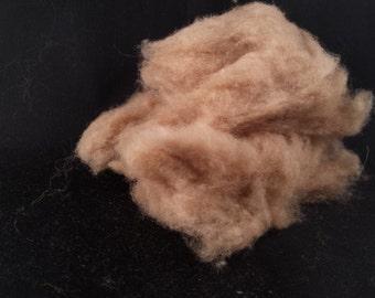 Guanaco fiber cloud form ready to spin 100 percent Exotic Fiber - 7 gram