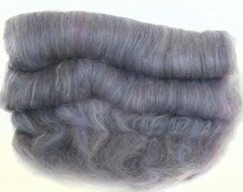 handcarded batt spinning fiber 2.5 oz