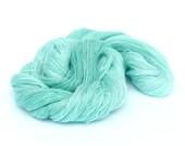 Pure cashmere yarn, lace yarn, scuba blue laceweight yarn, 100% cashmere, Seafoam, Perran Yarn, uk seller, handdyed wool yarn skein