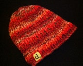 Chunky Reds Lined Hat -- FREE SHIPPING