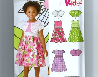 New Look Girls' Dress Pattern