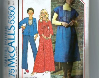 McCall's  Misses' Dress, Jumper or Top Pattern 5350