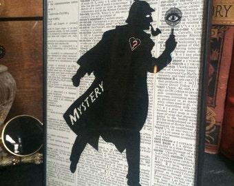 Baker St. Detective print
