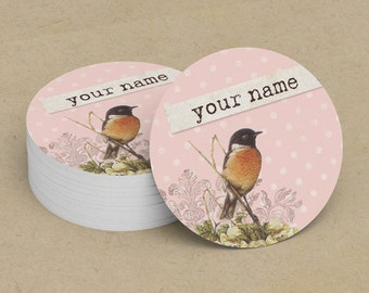 Custom Stickers  Custom Logo Stickers  Personalized Stickers  Product Labels  Adhesive Labels  Return Address Labels  Vintage Bird 7