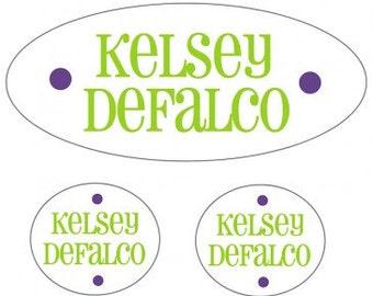Waterproof Labels for Kids | Name Labels for Camp | Name Labels for Daycare | Kids School Labels | Personalized Kids Labels | Peel & Stick
