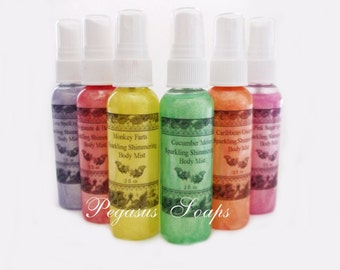 Clearance Monkey Farts Sparkling Shimmering Body Mist- Free Shipping
