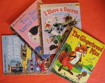 Four Little Golden Books