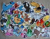 Pokemon Sticker Project (Batch 2) - The Complete Set [31 Stickers]