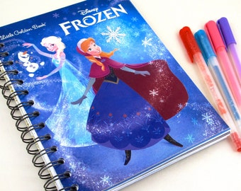 Frozen Upcycled Blank Journal