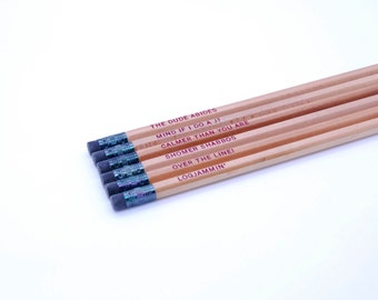 Pencils // The Big Lebowski Pencil Set
