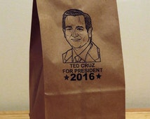 Ted Cruz 2016 Novelty bags. Qty: 5
