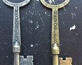 Memories Key Word Industrial Vintage Style Jewelry Findings