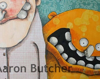 12 x 18 Print by Aaron Butcher