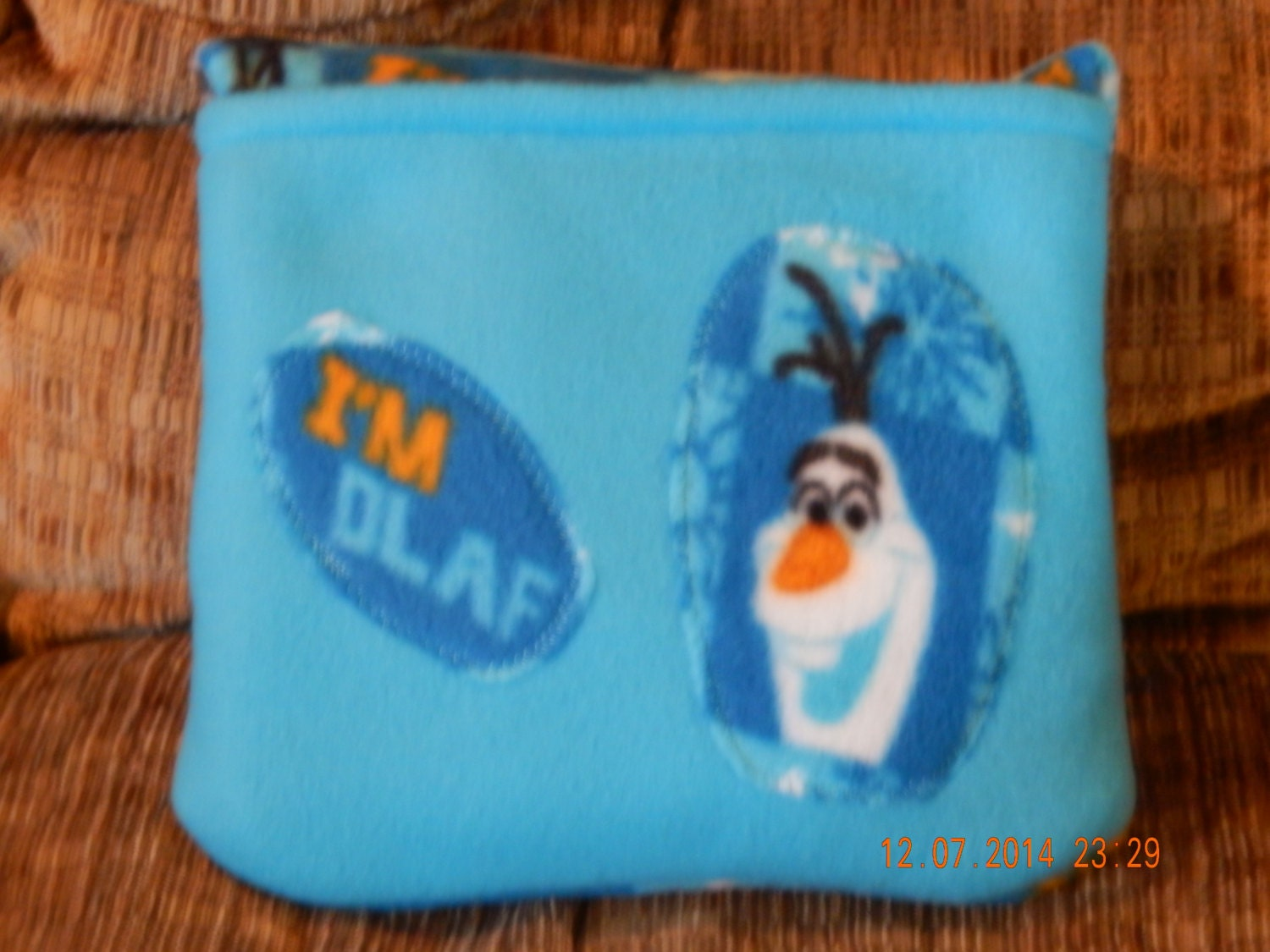 Quillow Blanket That Folds Into A Pillow Olaf From By