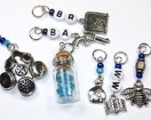 Hand Made Stitch Markers  --  Breaking Bad