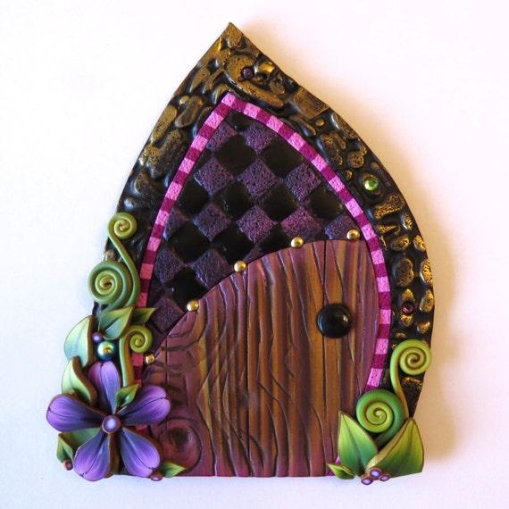Princess fairy door pixie portal miniature fairy door for Princess fairy door