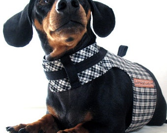 Eco Dog Harness - Renewable Racing Cotton - Custom