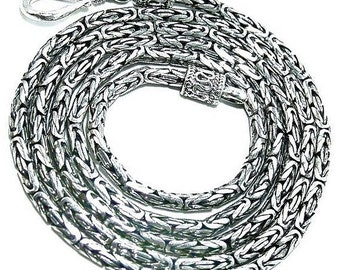 Sale: 18-Inch Sterling Silver Chain Necklace