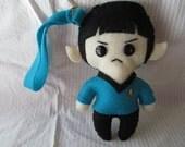 Mr. Spock Plushie Wristlet Purse