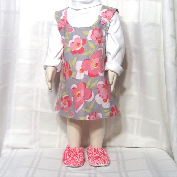reversible one size dress with matching shoes ooak fits