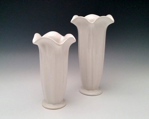 Ceramic Flower Vase Tall Pottery Vase