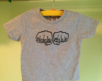 Boob Milk Knuckle Tattoo Tee 2T