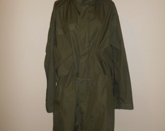 Vintage Military green Jacket       clothing clothes mens womens