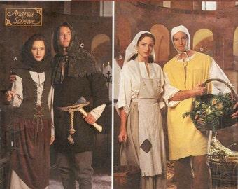 Simplicity 8587 Renaissance Costume Collection Men & Women PEASANT / PEON GARB  ©1999  Andrea Schewe