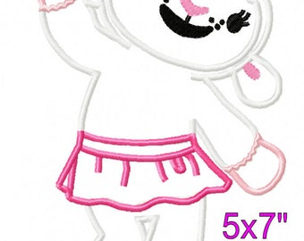 Girl Lamb Doctor Machine applique embroidery pattern 5x7 6x10 7x11 INSTANT DOWNLOAD