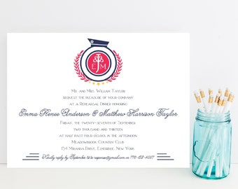 10 Nautical, Beach Rehearsal Dinner Invitations