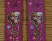 FROZEN - ELSA and ANNA Childrens' Mitten Clips Custom Made