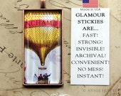 Glass Pendant Adhesive. Sticky Shape Alternative to Glaze for Pendant Trays. Dry Adhesive. Glamour Stickies. 50 Pack.