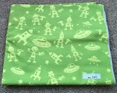 Fabric Destash no. 242 -- 2 yards of Michael Miller Mono Bot in Green