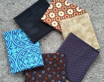 Fabric Destash no. 147, 148 -- 6 Fat Quarters