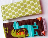 Reversible Car Seat Strap Covers - Dino Dudes - Seat Belt Covers