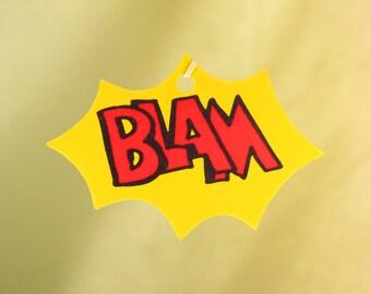 Comic Book Explosion Air Freshener, BLAM