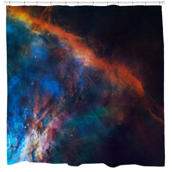 Items Similar To Outer Space Shower Curtain Gas Plume Near The Edge Of The Orion Nebula
