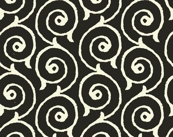 LAST Yard - Sew Scary - Fabric From Quilting Treasures - Black - #23863 - 9.95 Dollars