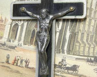 Vintage Cross Large Crucifix Religious