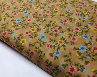 OOP MeadowBrook Farm by Linda Hohag MFAR 501Z Quilting Fabrics Sewing Floral p&b